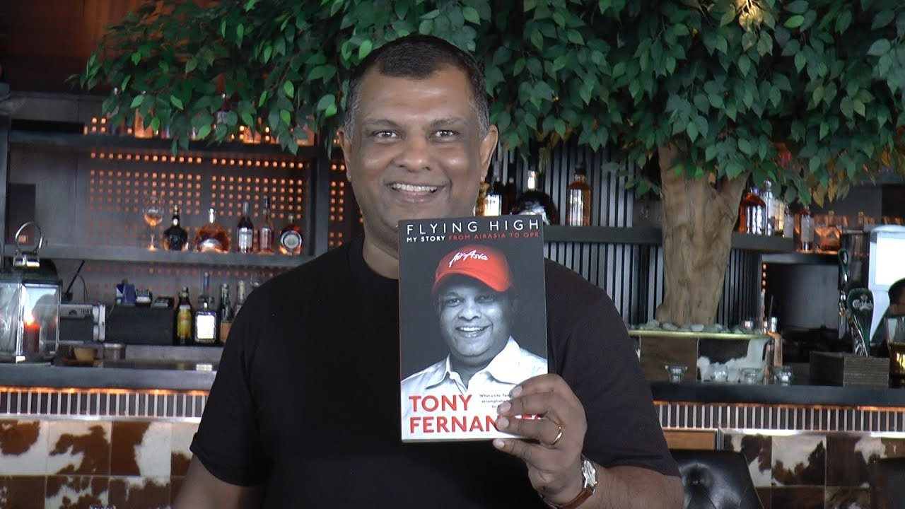Flying High - Tony Fernandes' memoirs
