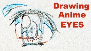 How to draw ANIME EYES by Veteran Animator HINOE Japanese manga tutorial ひのえさんのアニメの目の描き方講座