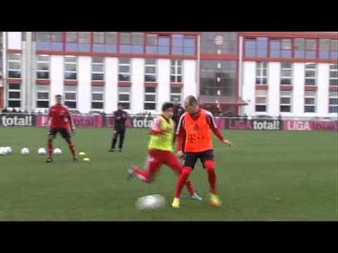 FC Bayern: Robben ist wieder da!