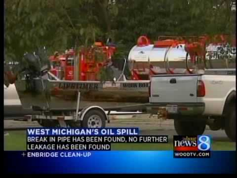 West Michigan Oil Spill - Day 6