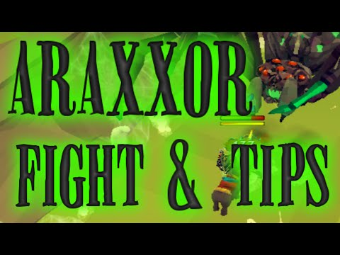 Araxxor Boss: Full Fight And Tips [runescape 2014] video