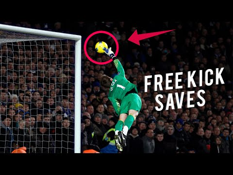 Top 10 Best Free Kick Saves In Football
