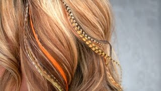 [How To ... Hair Feathers!!] Video