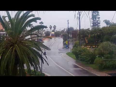 Hurricane Irma from Treasure Island, Florida. Part 1