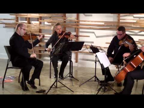 Haydn: Quartet in F-minor, op. 20, no.5 -- Amernet String Quartet, AmerneXt - II. Menuetto