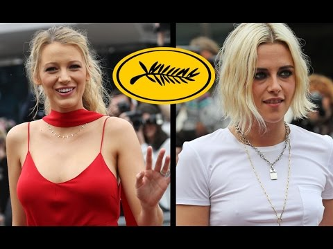 Blake Lively and Kristen Stewart CANNES 2016 Footage - CAFE SOCIETY Photocall (HD)