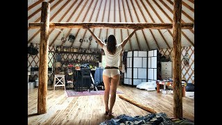 Living Off Grid In a Yurt | Building a Loft - Ep. 40