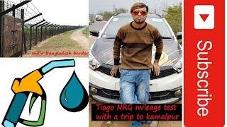 Tata Tiago NRG mileage test,Trip to Kamalpur for show, Night driving on hills.