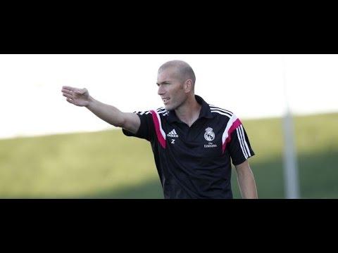 Así dirige Zidane los partidos desde el banquillo  ||Jugadores