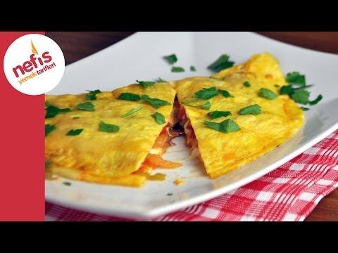 Pastırmalı Omlet Tarifi   Nefis Yemek Tarifleri