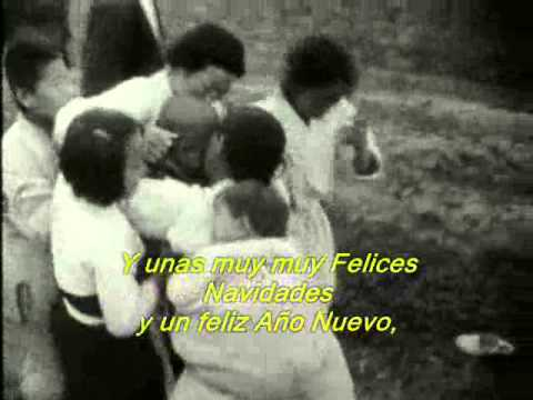 John Lennon - Happy Xmas - (War is over) - Subtitulos Español