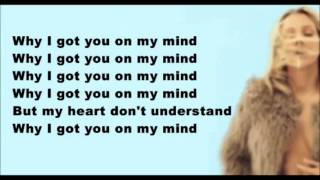 On My Mind - Ellie Goulding Lyric
