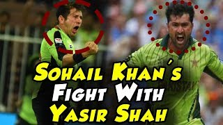 Sohail Khan Silly Fight With Yasir Shah | Lahore Qalandars Vs Quetta Gladiators | PSL 2018