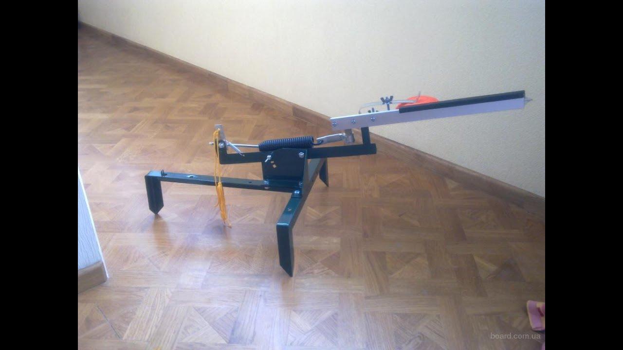Машинка стендовой стрельбы своими руками