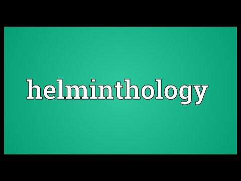 Header of helminthology