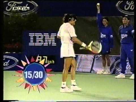 Gabriela Sabatini v Natalia Medvedeva Australian Open 1994 pt1
