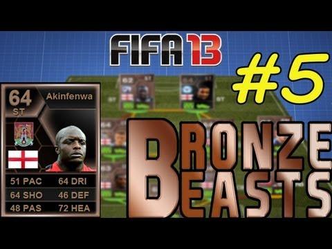 FIFA 13 Ultimate Team - BRONZE BEASTS - IN FORM AKINFENWA!