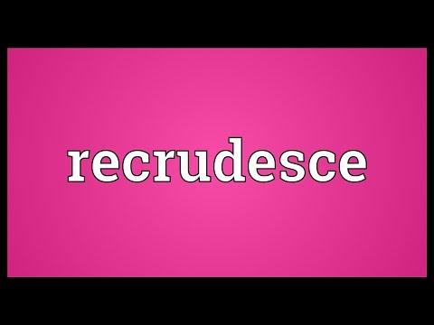 Header of recrudesce