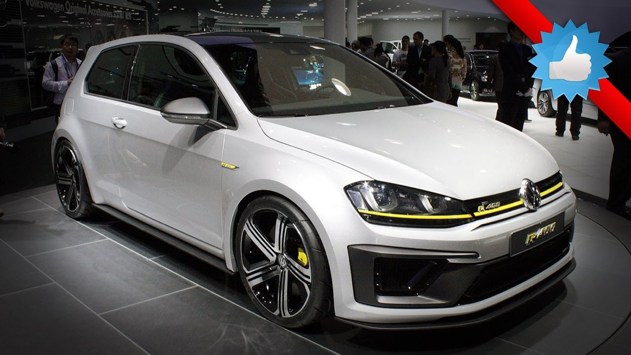 2015 Volkswagen Golf R400 Concept: Beijing 2014 - YouTube