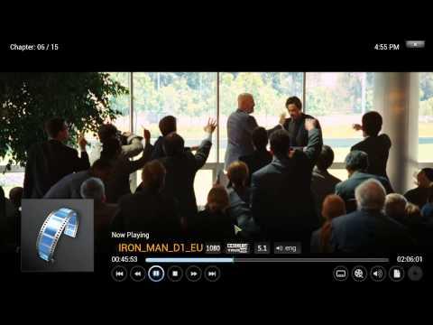 XBMC KODI - Bluray playback with external subtitles