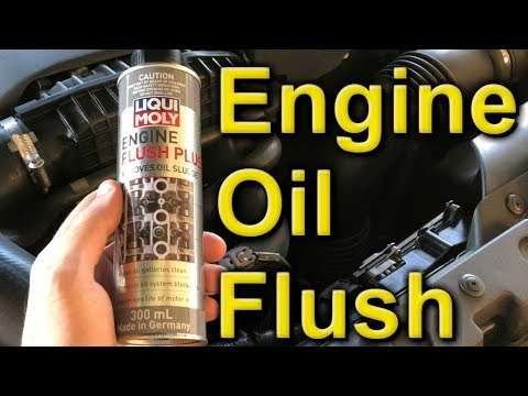 Liqui Moly Engine Flush Plus - How to Use