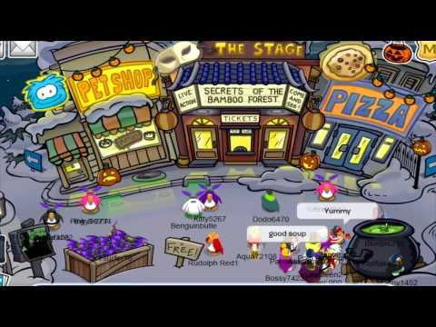 Clubpenguin- Meeting Gary