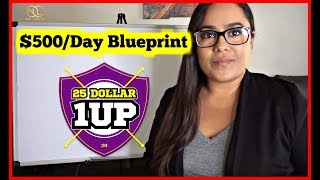 "25 Dollar 1Up Review  ""Easiest Way To Make Money Online Fast 2018"""