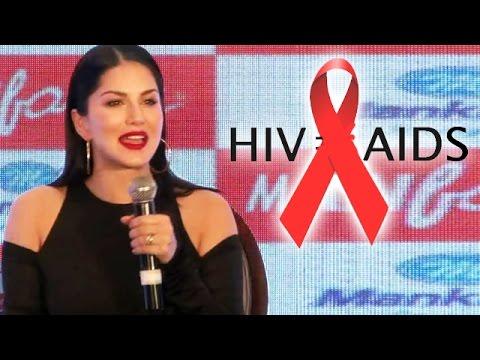 Sunny Leone Speaks Up On HIV/AIDS