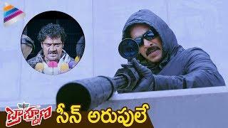 Upendra Shoots Ravi Shankar | BRAHMANA Telugu Movie | Saloni | Ragini  | Latest Telugu Movies