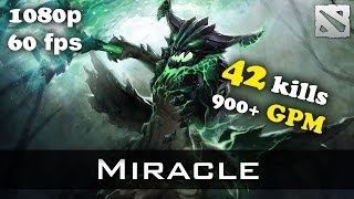 Miracle Outworld Devourer 42! kills 900+ GPM Dota 2
