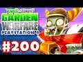 Plants vs. Zombies: Garden Warfare - Gameplay Walkthrough Part 200 - Playstation 4 Hats! (PS4)