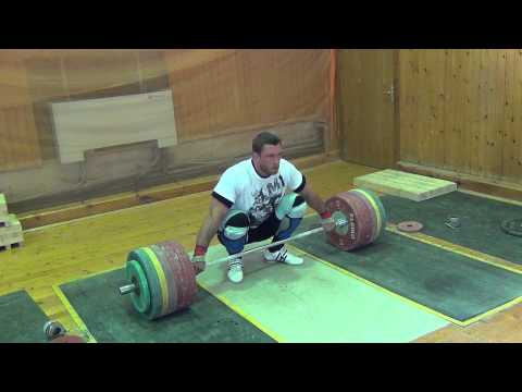 Dmitry Klokov - Dead Lift for snatch  260 x 2  (29.07.2013) Image 1