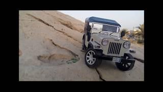 Realistic Indian Mahindra Jeep Miniature