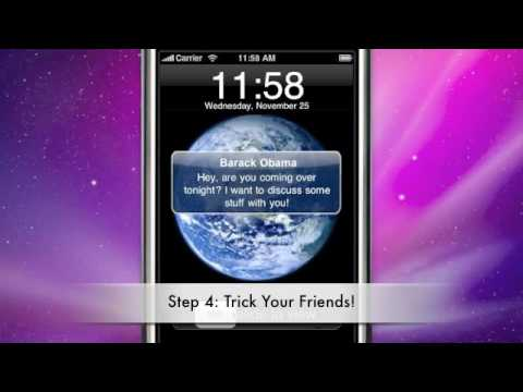 Best iPhone/ iPod Touch App!  Fake-A-Text! PRO