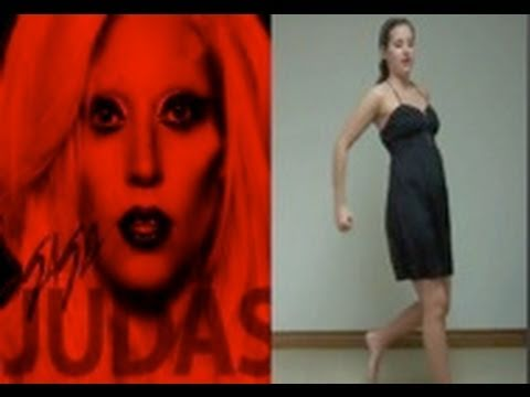 Lady Gaga 'judas' Dance Tutorial video