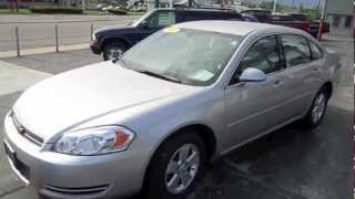 2007 CHEVROLET IMPALA Start Up, Walk Around and Review