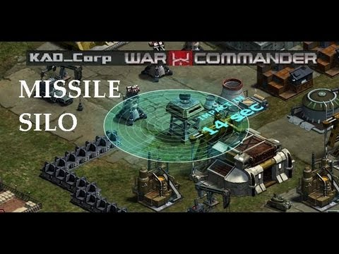 War Commander Preview, Missile Silo [ Full Explanation ], KAD_Corp