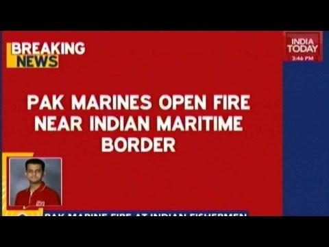 Pak Marines Open Fire Near Indian Maritime Border