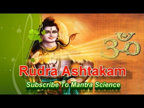 Powerful Rudra Ashtakam For A Blessed Life video