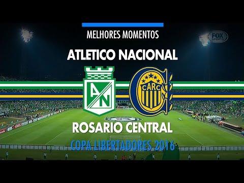 Melhores Momentos - Atletico Nacional 3 x 1 Rosario Central - Libertadores - 19/05/2016