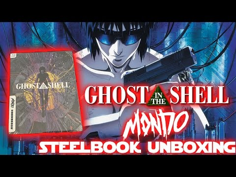 Ghost In The Shell (1995) Mondo Blu-ray Steelbook Unboxing And Giveaway Winner Announced!