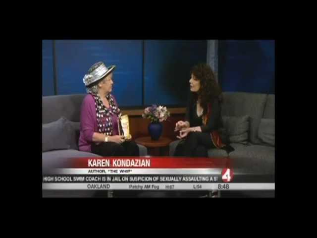 Karen Kondazian interviewed on KRON 4 San Francisco with Jan Wahl
