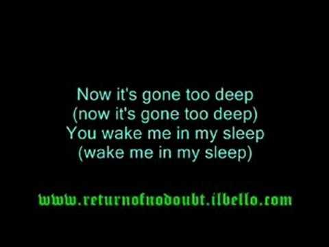 No Doubt - Spiderwebs (with lyrics)