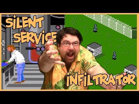 Joueur du Grenier - Silent Service & Infiltrator - NES