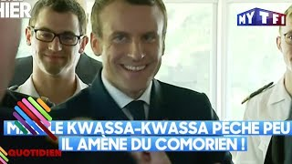 La dérapage d'Emmanuel Macron sur les comoriens - Quotidien du 02 juin 2017