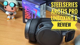 SteelSeries Arctis Pro Wireless unboxing and overview