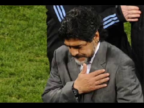 ARGENTINA 0-4 ALEMANIA La Argentina de Maradona, a casa humillada y ridiculizada