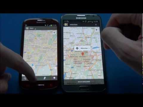 Samsung Galaxy Note 2 vs. Samsung Galaxy S3 deutsch