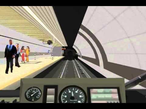 [OpenBVE]Istanbul Metro Taksim - 4.Levent Journey