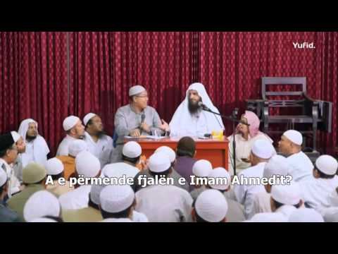 Shejh Abdurrazak el Bedri ia dhuron orën një plaku në fund të dersit